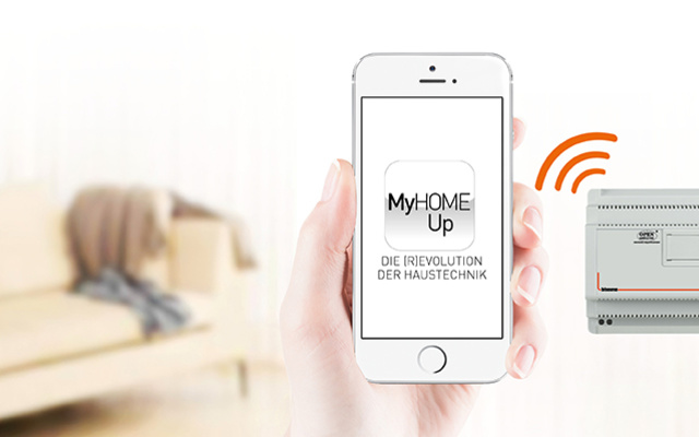 MyHOME / MyHOME_Up bei B+M Elektrotechnik GmbH & Co.KG in Halle